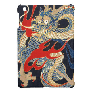 DRAGON FIRE - JAPANESE PATTERN COVER FOR THE iPad MINI