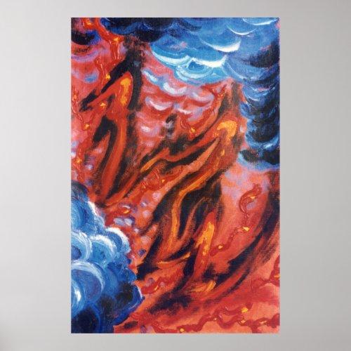 Dragon Fire print