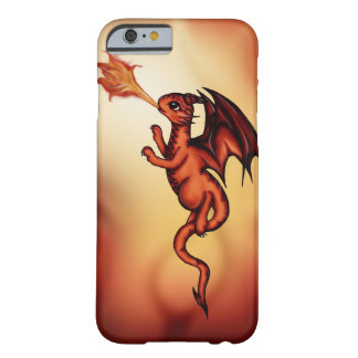 dragón firebreathing funda para iPhone 6 barely there