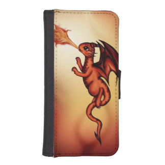 dragón firebreathing billetera para iPhone 5