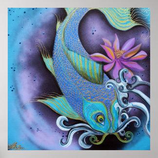Dragon Fish Poster Art