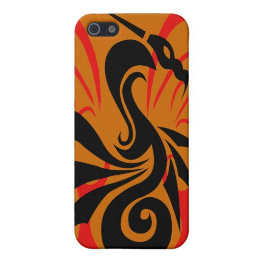 Dragon Flame Covers For iPhone 5
