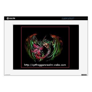 Dragon Flower Laptop Skin