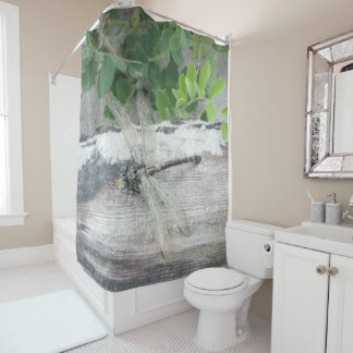 Interesting Dragon Fly Shower Curtain. Dragon fly beach wood sand  quot Shower Curtain Fly Curtains Zazzle