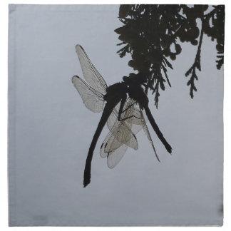 Dragon fly cloth napkin