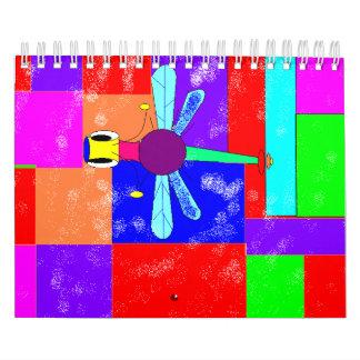 DRAGON FLY - Customized Wall Calendar