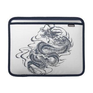 Dragon fly english MacBook sleeve