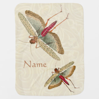 Dragon Fly Painting - Baby Blanket 1