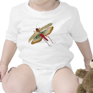 Dragon Fly Painting - Infant Creeper 1