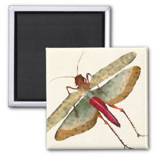 Dragon Fly Painting - Magnet 2