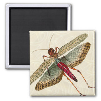 Dragon Fly Painting - Magnet 3B