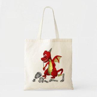 Dragon Food Canvas Bags