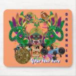 Dragon Football Mardi Gras Please View Hints Mousepads