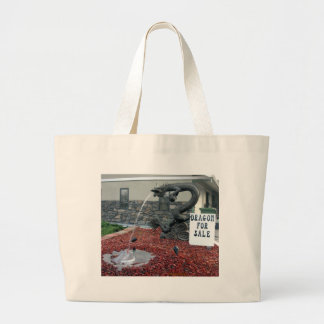 Dragon for Sale Large Tote Bag