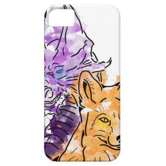 Dragon Fox iPhone SE/5/5s Case
