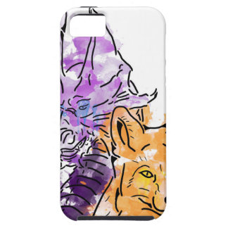 Dragon Fox iPhone SE/5/5s Case