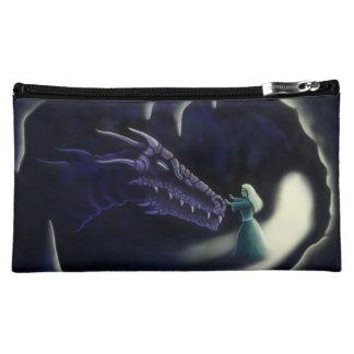 dragon friend fantasy art cosmetic bag
