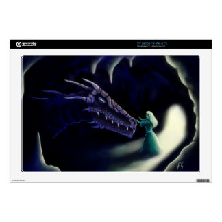 "dragon friend fantasy art skin 17"" laptop skins"