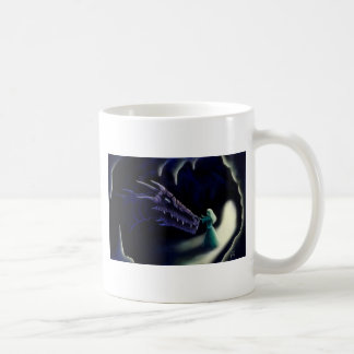 dragon friend fantasy artwork classic white coffee mug