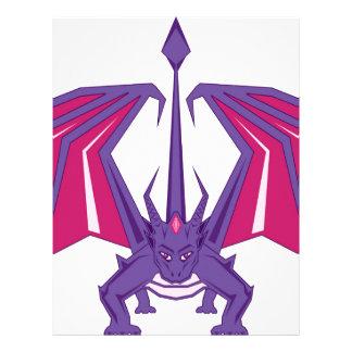 Dragon Front Letterhead