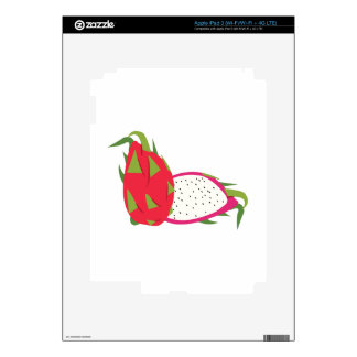 Dragon Fruit Decals For iPad 3