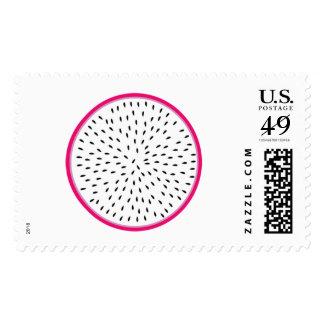 Dragon Fruit Postage Stamps