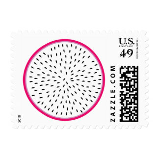 Dragon Fruit Postage Stamp