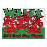 Dragón Galés, ganadores 2012 del Grand Slam Tarjeton