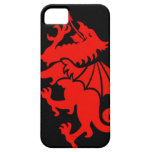 Dragón Galés iPhone 5 Funda