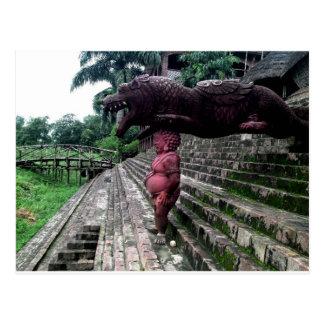 Dragon Gargoyle Postcard