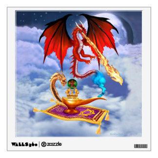 DRAGON GENIE WALL DECAL