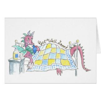 Dragon Get Well Card