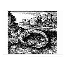 dragon gifts - postcard