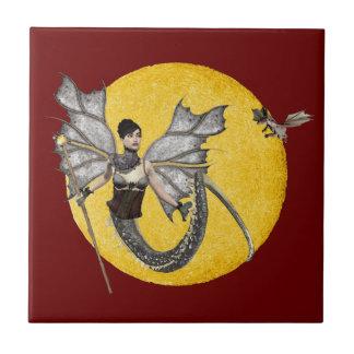 Dragon Goddess Tile
