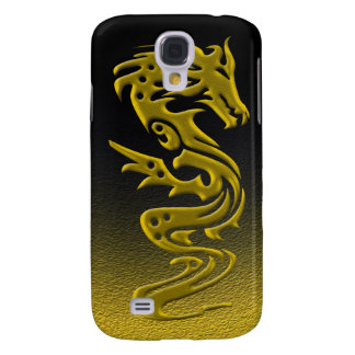 Dragon gold samsung galaxy s4 cover