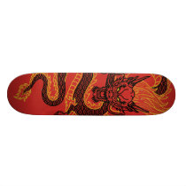 Dragon: Golden Skateboard