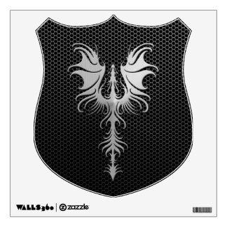 Dragón gótico de la malla de acero