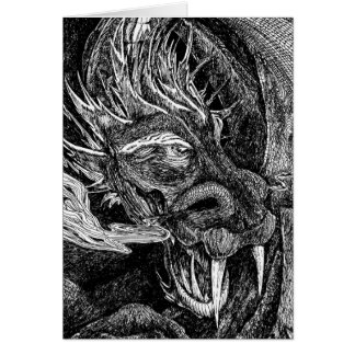 Dragon greetings card