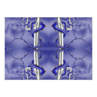 Dragon Guardian Kaleidoscope Mandala Card
