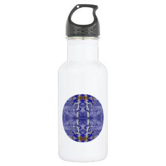 Dragon Guardian kaleidoscope Mandala Stainless Steel Water Bottle