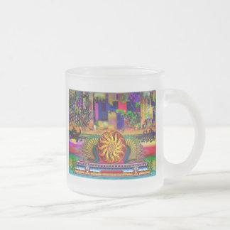 Dragon Guardians of Paradise Abstract Sky Mug