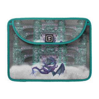 """Dragon Guarding Castle 13"""" MacBook Sleeve MacBook Pro Sleeves"""