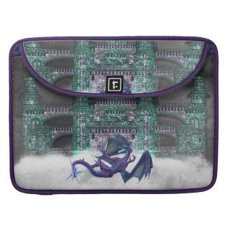 "Dragon Guarding Castle 15"" MacBook Sleeve Sleeves For MacBook Pro"