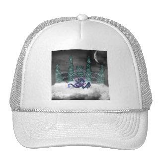 Dragon Guarding Castle  Baseball Hat