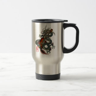 Dragon Guitar 01 Travel Mug