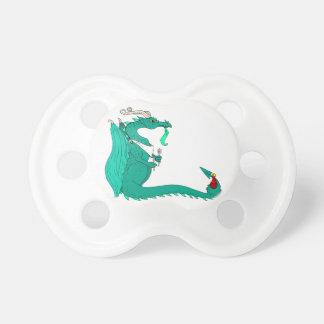 Dragón hambriento chupete de bebe