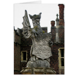 Dragon, Hampton Court, England Card