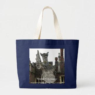 Dragon, Hampton Court, England Large Tote Bag