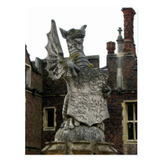 Dragon, Hampton Court, England Postcard