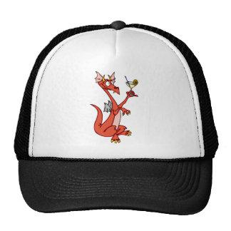 Dragon Happy Hour Trucker Hats